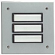 Grothe Etagenplatte ETA 803 EV1 Alu/silber elox.