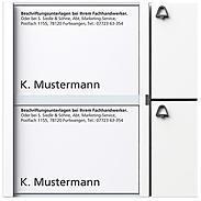Siedle + Söhne Tasten-Modul TM 612-2, weiß