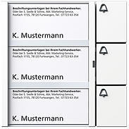 Siedle + Söhne Tasten-Modul TM 612-3, weiß