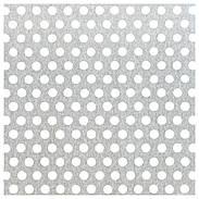 Lochblech rund Aluminium natur 600x1000x0,8