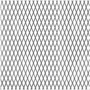 Streckmetallblech Stahl roh 600x1000x1,2