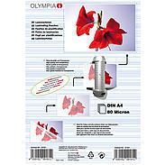 Olympia Laminierfolien DIN A4, 25Stk, 80mic