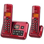 Olympia Schnurloses Telefon Certo Answer Twin rot