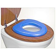 "reer WC-Sitz ""Soft"", blau"