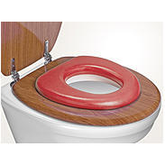 "reer WC-Sitz ""Soft"", rot"