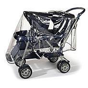 reer PEVA Regenschutz für Geschwisterwagen