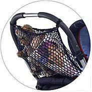 reer Einkaufsnetz für Kinderwagen, schwarz