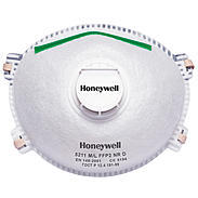 Honeywell Einwegmaske, mit Ventil, Gr. M/L, 10 Stk
