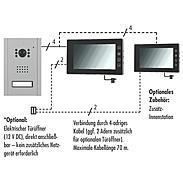 Pentatech VT37 SET Video-Türsprechanlage 7 Zoll