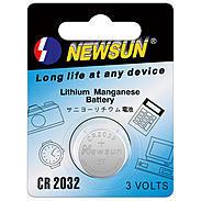 LUPUS Knopfzelle Lithium CR2032 - 1 Stück