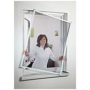 Fensterfliegengitter Master Slim 80x100 cm braun