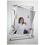 Fensterfliegengitter Master Slim 150x160 cm weiß