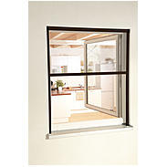"Alu-Fensterrollo ""Smart"" 160 x 160 cm braun"