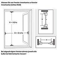 Fensterbausatz flächenb.compact 100 x 120 cm braun