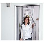 Lamellenvorhang Polyester 100 x 220 cm weiß 4tlg.