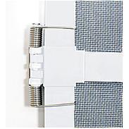 Alu-Tür Bausatz Basic 100 x 210 cm anthrazit