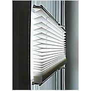 Sonnenschutz-Plissee 60 x 130 cm weiß