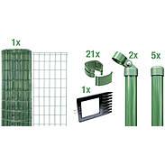 Fix-Clip Pro Set zE, grün, Höhe 1020mm - 10m