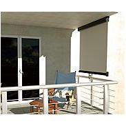 "Balkon-Markise ""anthrazit"", ca. 0,8 m x 3 m"
