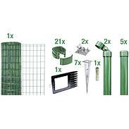Fix-Clip Pro Set EBH, grün, hoch 1530mm - 10m