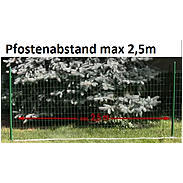 Fix-Clip Pro Schweißgitter grün 810 mm, 25 m
