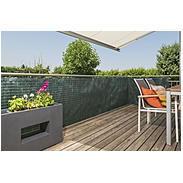Sichtschutzmatte Raffia 3x0,9m, grün