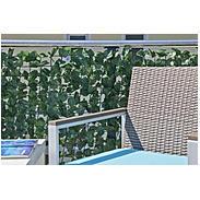 Sichtschutzhecke Wein 3x1m, grün