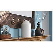 Kerze mit Geheimfach - Kerzen-Safe weiß