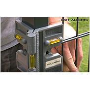 GAH Montagehilfe-Set für Zäune - Winkelwasserwaage