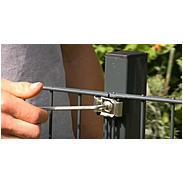 Doppelstab-Gittermatte 6-5-6 anth, 2000 x 1800 mm