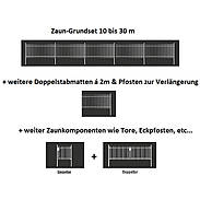 10m Doppelstabmatte-Set 6-5-6, fvz, 2000x1200