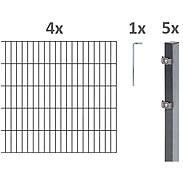 10m Doppelstabmatte-Set 6-5-6, anth, 2000x1200