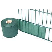 Sichtschutzstreifen 80%  f. Doppelstab-Gitter grün