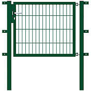 GAH Stabgitter Einzeltor FLEXO grün 1000 x 800 mm