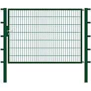 GAH Stabgitter Einzeltor FLEXO grün 2000 x 1400 mm