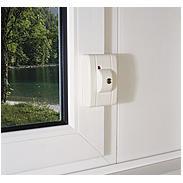 ABUS FTS99 B AL0125 Fenster-Automatikschloss,braun