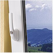 ABUS FG300 S AL0125 abschließb. Fenstergriff, silb