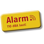 Abus FG300A W Alarm-Fenstergriff - DIN rechts