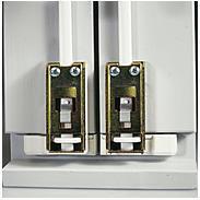 ABUS DSB550 B Doppelschliessblech f. FOS550, braun