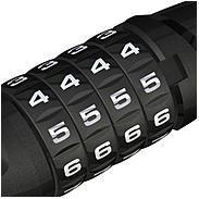 Abus Tresorflex 6615C/85 BK SCMU
