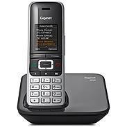 Gigaset S850 Schnurloses Telefon platin / schwarz
