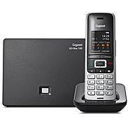 Gigaset S850A GO Schnurloses Telefon platin /schw
