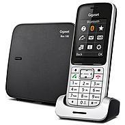 Gigaset SL450 Schnurloses Telefon platin /schw
