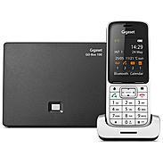 Gigaset SL450A GO Schnurloses Telefon platin /schw