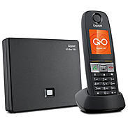 Gigaset E630A GO Schnurloses Telefon schwarz