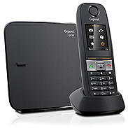 Gigaset E630 Schnurloses Telefon schwarz