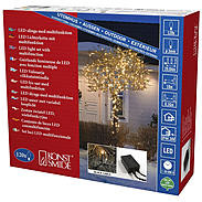 Konstsmide LED-Lichterkette Micro 120-flg.24VTrafo