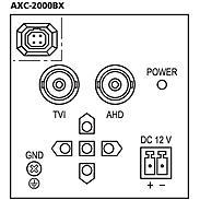 Monacor AXC-2000BX analog Kamera 1080p Tag/Nacht