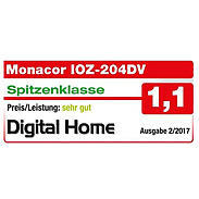 Monacor IOZ-204DV Video-Überwachungsset 4-Kanal