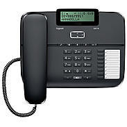 Gigaset Komfort-Telefon DA710 schwarz sw